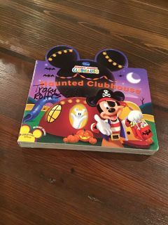 Mickey Mouse Clubhouse Haunted Clubhouse Board Book