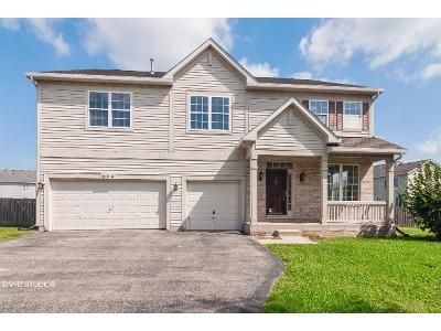 5 Bed 3 Bath Foreclosure Property in Plano, IL 60545 - Christopher St