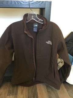 North face zippered jacket