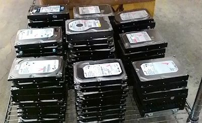 "500 GB SATA hard drives 3.5"" 7200 RPM"
