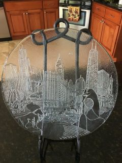 Marshall Field's Chicago Skyline Collectors Plate