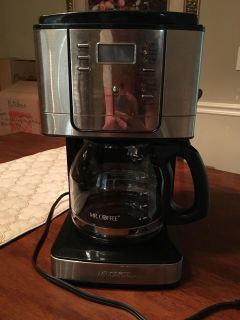 Stainless steel Mr Coffee 12 cup coffee pot