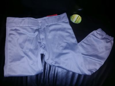Womens softball pants M New