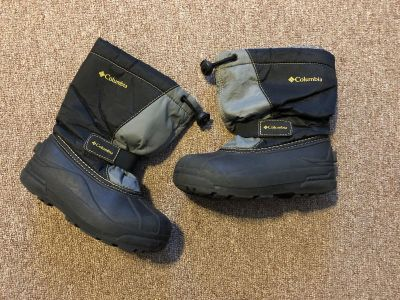 Kids Size 13 Columbia Boots