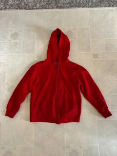 Champion red hoodie, size small, great condition