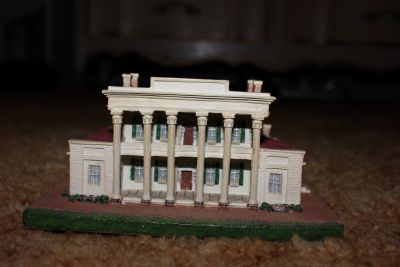 The Hermitage from Danbury Mint Homes of the Presidents