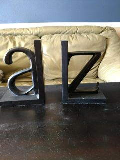 A-Z bookends