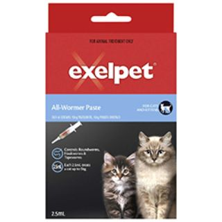 Buy Exelpet Allwormer For Cats