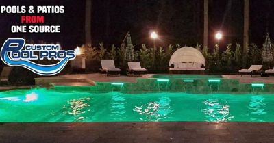 Custom Swimming Pool Construction Service