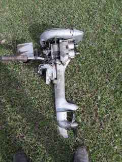 Antique 1946 Mercury KD-4 Rocket Outboard 6hp