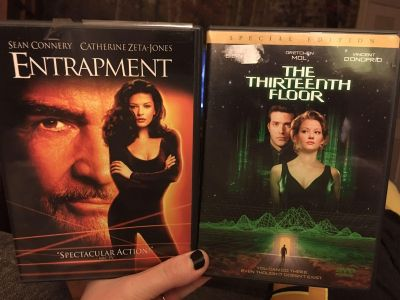 DVDs $3 for both