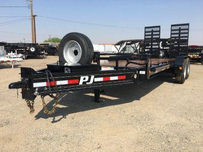 "10"" Pro Beam Equipment Trailer,  Heavy Duty Equipment Trailer,  PJ Trailer H5242"