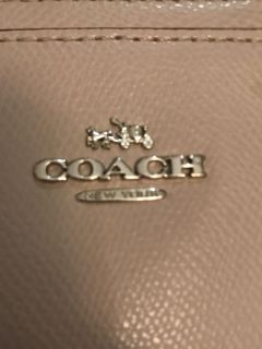 Coach Madison Christie carryall satchel birch Saffiano leather