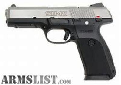 For Sale: Ruger SR45