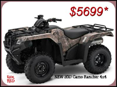 2017 Honda FourTrax Rancher 4x4 Utility ATVs Erie, PA