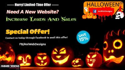 Make Website And Get Exclusive Offers On Halloween