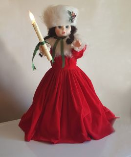 """Electric 24"""" Christmas Doll"""