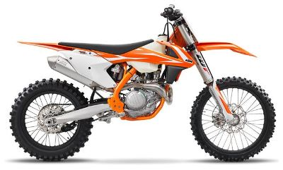 2018 KTM 450 XC-F Competition/Off Road Motorcycles Lakeport, CA