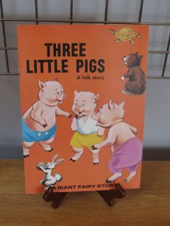 Three Lillte Pigs~A Giant Fairy Story