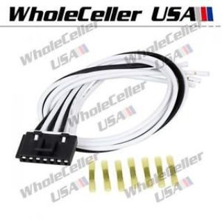Find 7 Wire Pigtail Blower Motor Resistor Connector For Chevrolet Trailblazer Tahoe motorcycle in Milpitas, California, United States