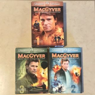 MacGyver Boxed Sets Seasons 1, 2 & 3 DVDs EUC