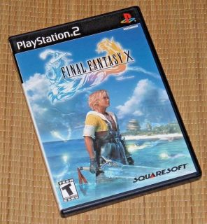 Sony PlayStation 2 PS2 Final Fantasy X 10 Video Game