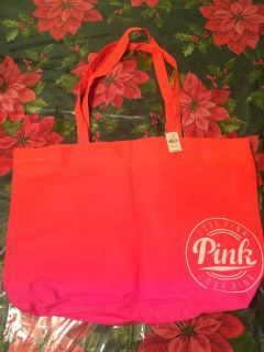Brand new Pink tote bag.