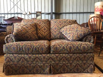 Haverty s couch and Love Seat