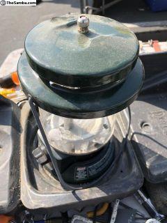 Coleman propane lantern with case
