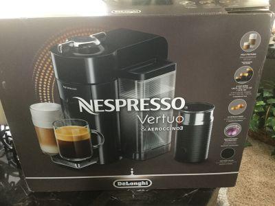 Delongi Nespresso Vertuo & Aeroccino3 Coffee Machine