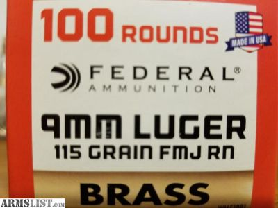 For Sale: federal ammo cheap