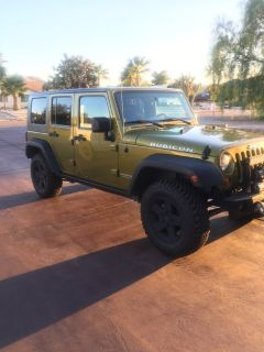 4 door Jeep Rubicon