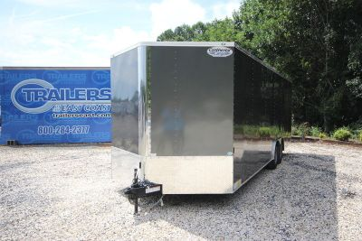 2018 Continental Cargo NS Series 24ft Enclosed Car Trailer