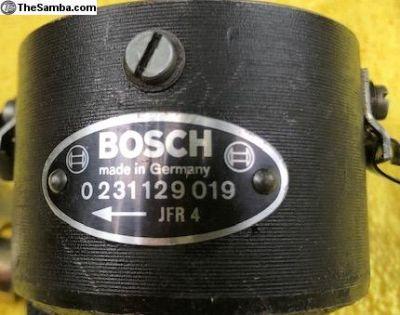 Bosch 019 Distributor - Very Nice Badge