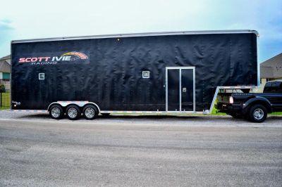 2005 United Super Hauler Stacker 40 racecar trailer