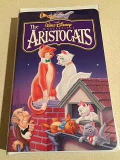 *Looking for Aristocats on VHS*