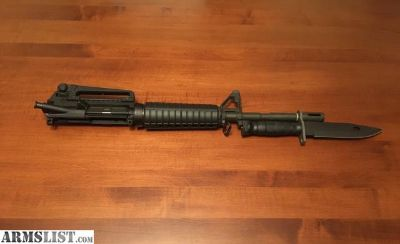 For Sale/Trade: Mil-Spec Ar15 Upper (14.5 ->16 ) /w M9 Bayonet