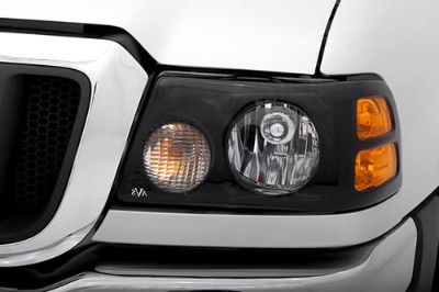 Sell AVS 337540 04-10 Ford Ranger Headlight Projectorz Smoke Front Light Covers 2 Pcs motorcycle in Birmingham, Alabama, US, for US $79.42