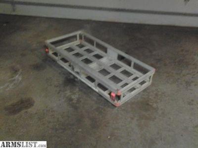 For Sale: Aluminum Cargo Carrier for luggage , deer hunt , cooler etc