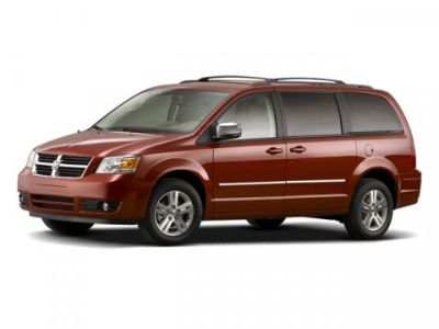 2008 Dodge Grand Caravan SXT (Inferno Red Crystal Pearl)