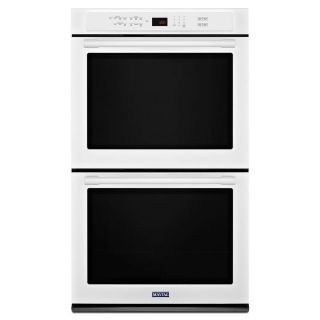 "Maytag 30"" White Double Oven MEW9630FW - NEW"