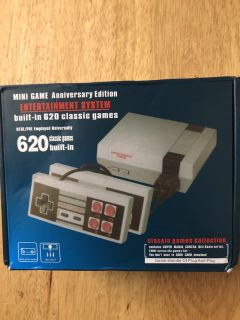 620 Classic Games Built In