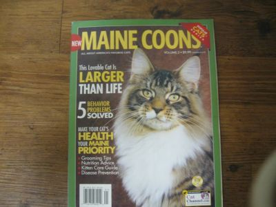 Cat Book-mostly about Maine Coons