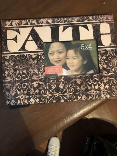 Faith Picture Frame NEW