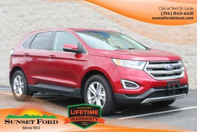 2015 Ford Edge SEL (Ruby Red Metallic)