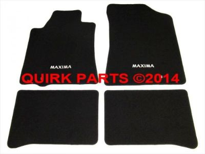 Purchase 2009-2014 Nissan Maxima Black Carpeted Floor Mats Front & Rear Set Of 4 OEM NEW motorcycle in Braintree, Massachusetts, United States, for US $114.94