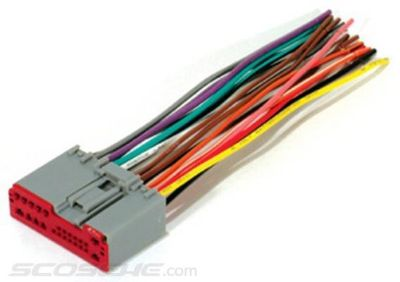 Sell FORD PLUGS INTO FACTORY RADIO CAR STEREO CD PLAYER WIRING HARNESS WIRE INSTALL motorcycle in Oliver Springs, Tennessee, US, for US $8.96