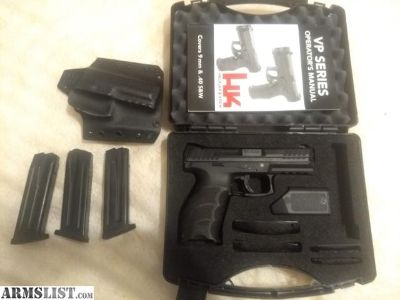 For Sale: Heckler & Koch VP9 9mm with extras