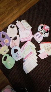 LOTS of infant girl items!