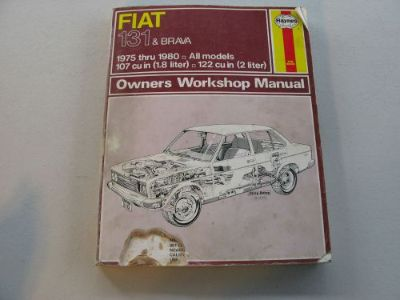 Purchase HAYNES #310 OWNERS WORKSHOP MANUAL FOR FIAT 131 & BRAVA (1975-1980 ALL MODELS) motorcycle in La Verne, California, United States